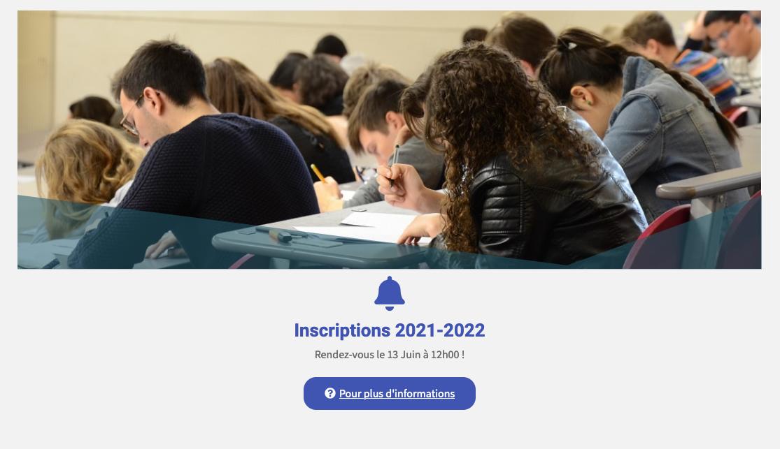inscriptions Tutorat 2021*2021