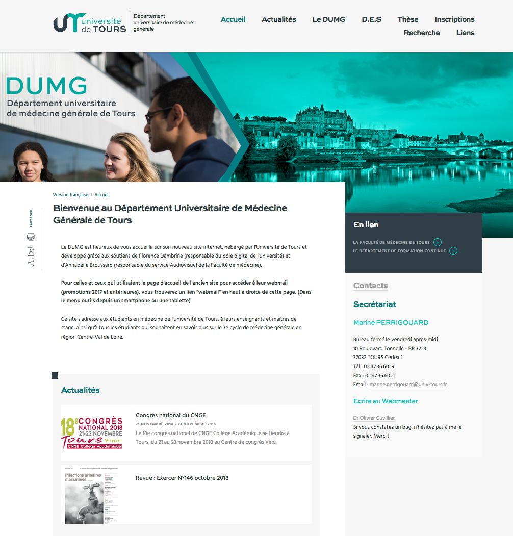 Site du DUMG