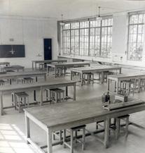 Salle de TP - 1940